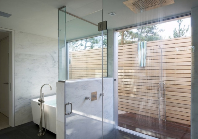 Flying Point Road contemporary-bathroom
