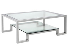 Duplicity Coffee contemporary coffee tables