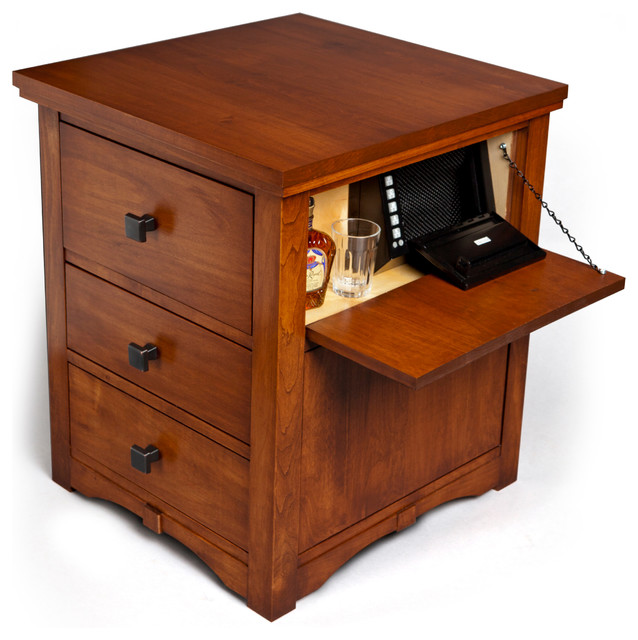 OnionSafe, the multi-functional nightstand - Contemporary - Safes - portland - by OnionSafe