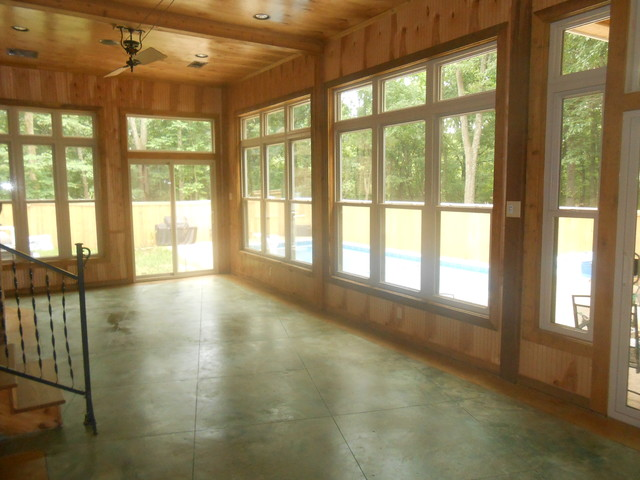 Southaven Sunroom rustic