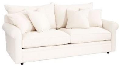 Davenport Apartment Sofa Slipcover contemporary-sofas