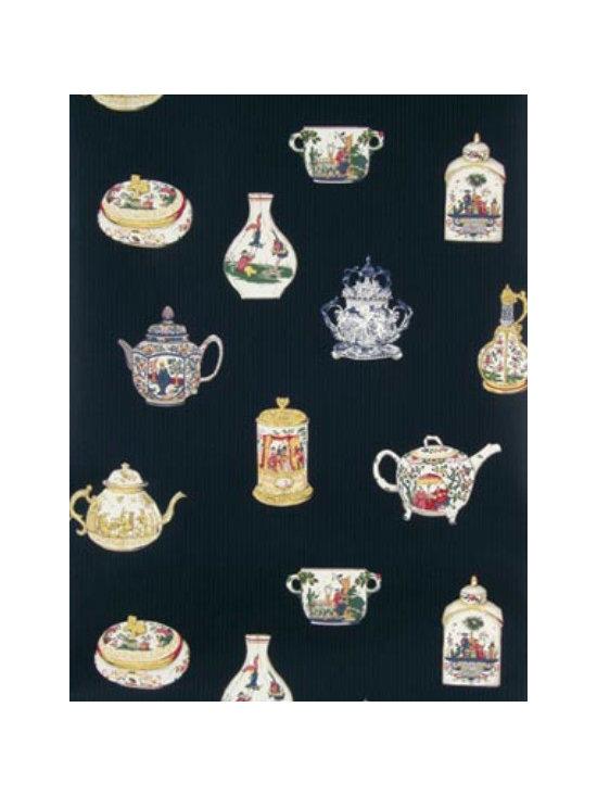 Teapot Wallpaper - Meissen -
