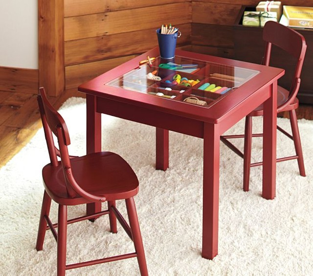 Carolina Collectors Table modern-kids-tables-and-chairs