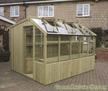 Swallow Rook 8x10 Wooden Potting Shed Traditional