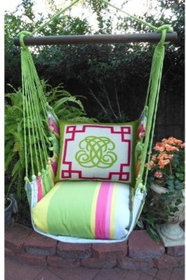 Magnolia Casual Regency Hammock Chair & Pillow Set modern-chairs