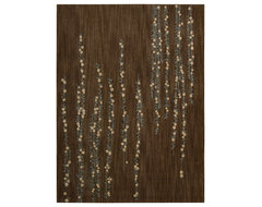 """Radiant Impressions LK04 3'6"""" x 5'6"""" Brown Rug contemporary-rugs"""