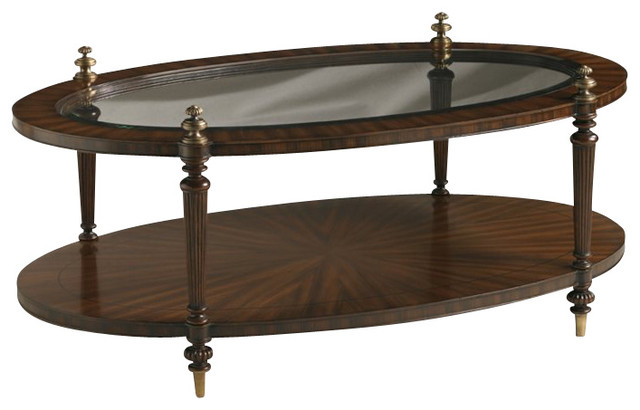 Henry Link Westbourne Park Cocktail Table in Avignon transitional-coffee-tables