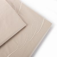 """Juliette Bed Linen Collection"" King Sheet Set Linen Embroidered traditional-sheet-and-pillowcase-sets"