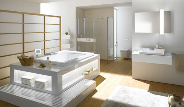 Toto Neorest Bathtub And Sink Modern Bathtubs Montreal By Montreal Les Bains