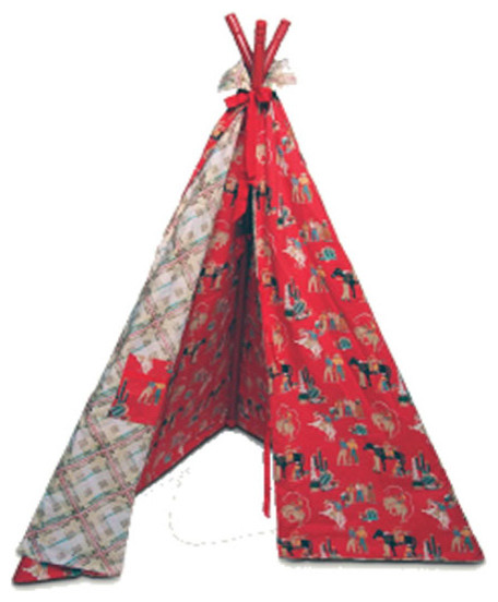Fabric play teepee modern kids decor by rosenberry rooms for Modern kids fabric
