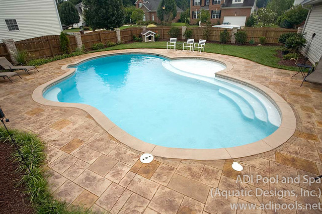 766 greensboro nc traditional pool raleigh by adi pool and spa for Swimming pool supplies raleigh nc