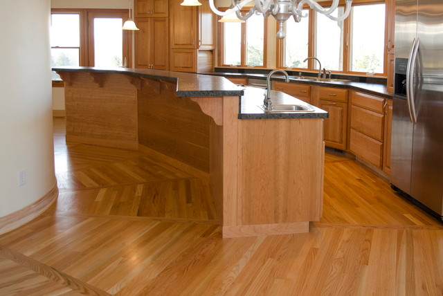 Custom Octagonal Kitchen Contemporary Other Metro By