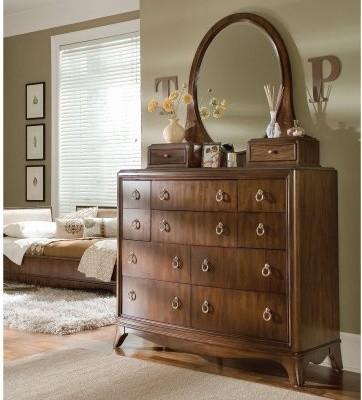 Elite Rhapsody 10 Drawer Bureau Dresser modern-dressers