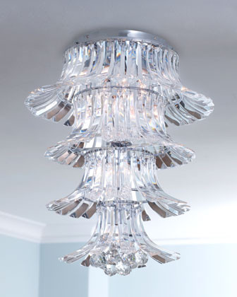 Tulip Crystal Chandelier traditional chandeliers