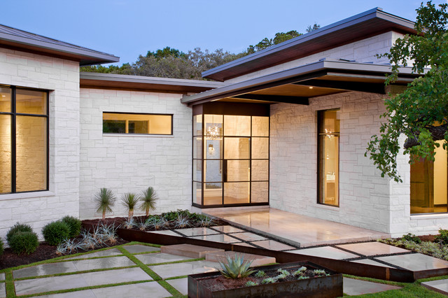The Blanco House contemporary-exterior