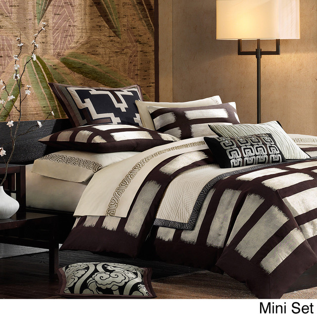 Artology Makie Comforter 3-piece Set and Euro Sham Separate contemporary-duvet-covers