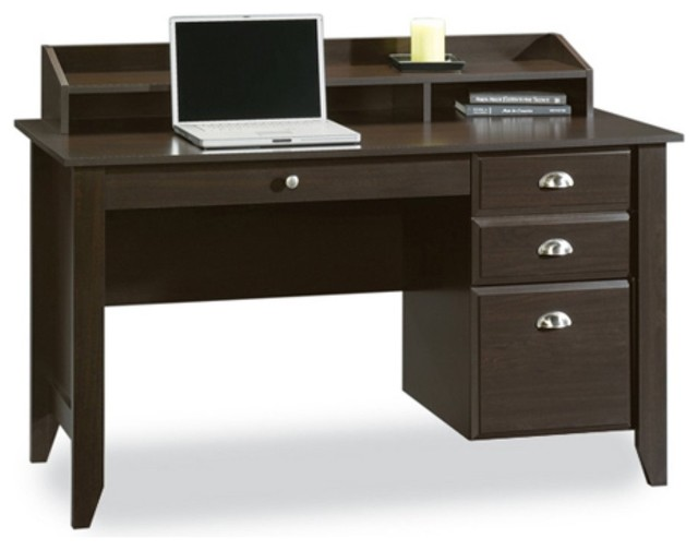 Sauder Shoal Creek Writing Laptop Desk With Hutch