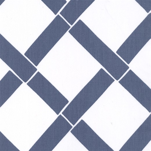 Annette Tatum Bamboo Indigo Fabric transitional-fabric