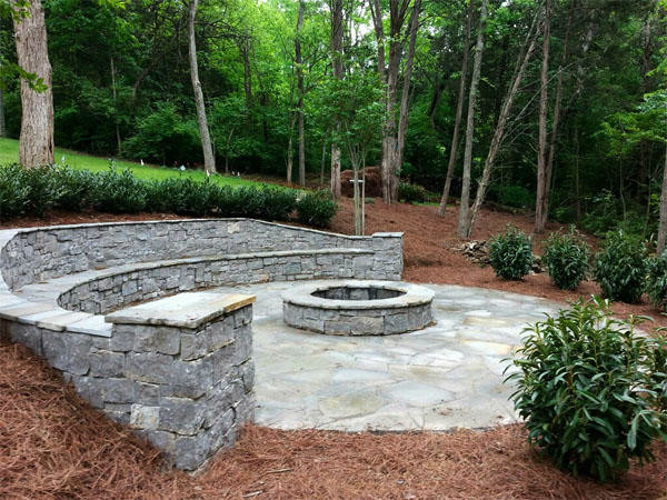 hardscapes traditional landscape