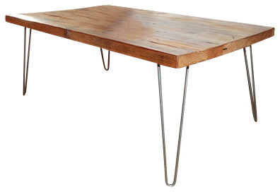 Urban loft Reclaimed Wood Coffee Table contemporary-coffee-tables