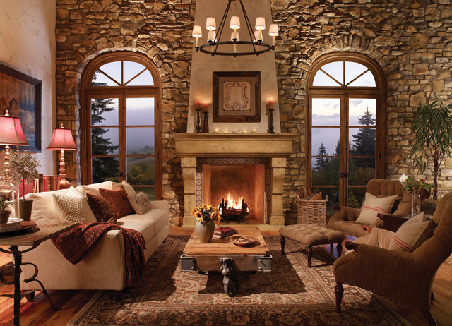 Traditional Fireplaces traditional-indoor-fireplaces