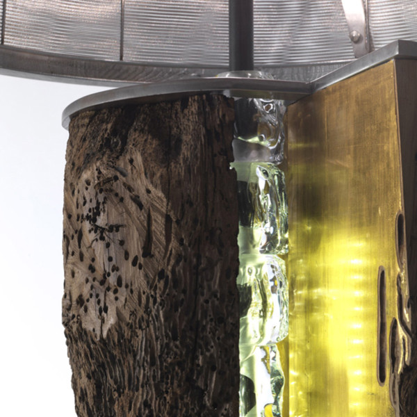 detail: gold leaf contemporary-floor-lamps