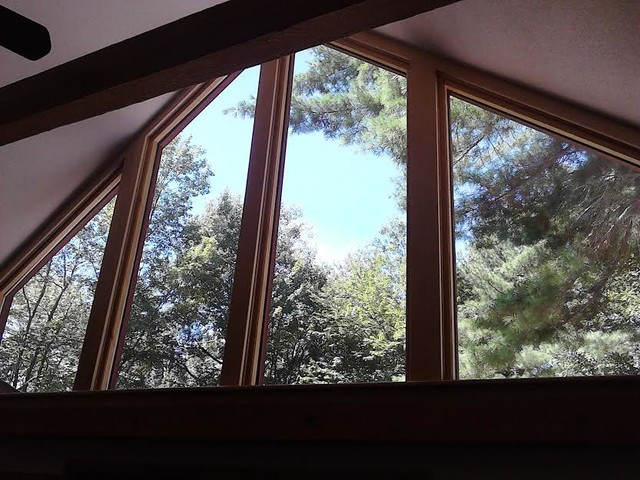 Small Replacement Windows : Small custom window replacement contemporary other