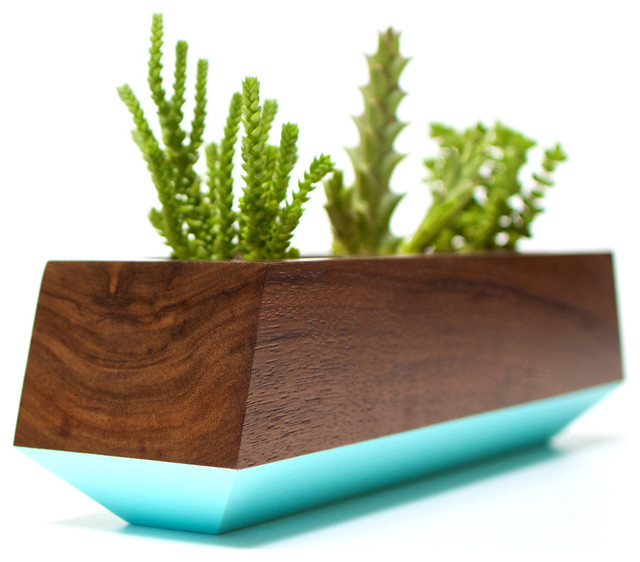 Boxcar Planter Series Modern Indoor Pots And Planters