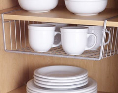 Polytherm Undershelf Baskets modern cabinet and drawer organizers