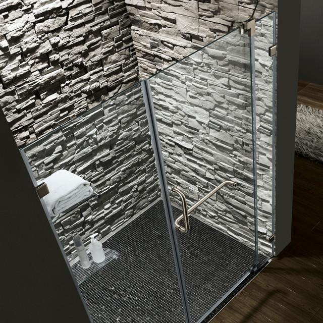 VG6042BNCL66 Frameless Shower Door - Modern - Shower Doors ...