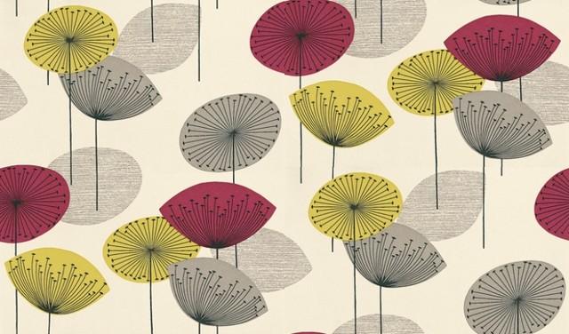 Dandelion Clocks eclectic-wallpaper