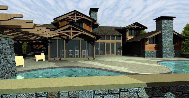 Hidden Lake Residence contemporary