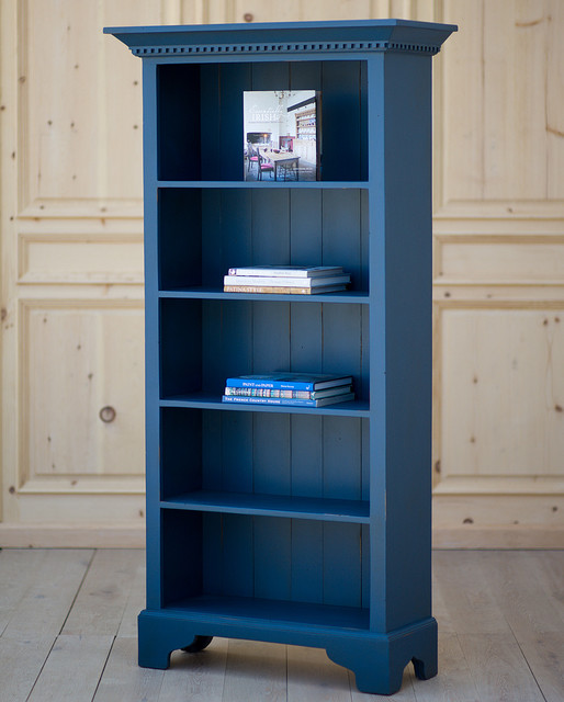Cottage Tall Bookcase - Traditional - Bookcases - new york - by Coach Barn