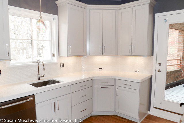 small townhouse kitchen contemporary kitchen other