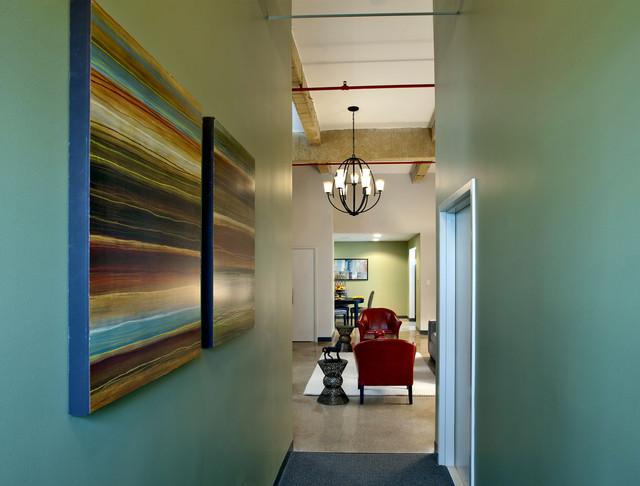 Urban Loft Living Room contemporary-living-room