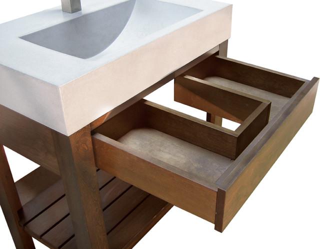 Concrete Sink Trueform Concrete Bathroom Sinks New
