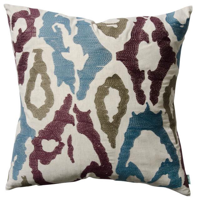 """Ankara Pillow, 20"""" x 20"""" eclectic-decorative-pillows"""