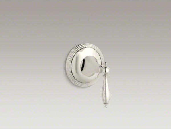 KOHLER Final(R) traditional valve trim with lever handle for volume control valv contemporary-bath-products