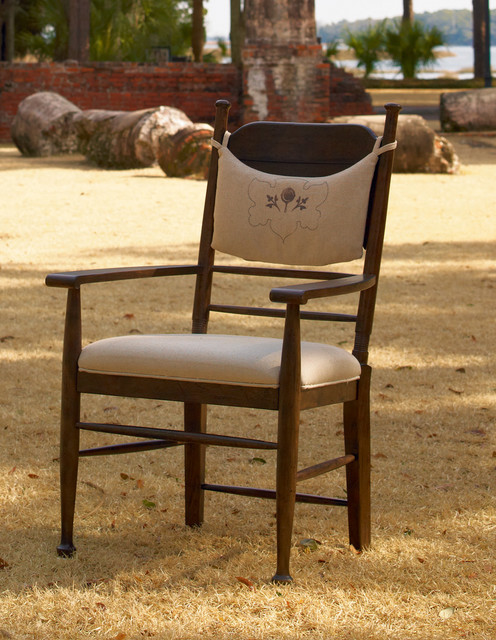 Down Home Arm Chair traditional-armchairs-and-accent-chairs