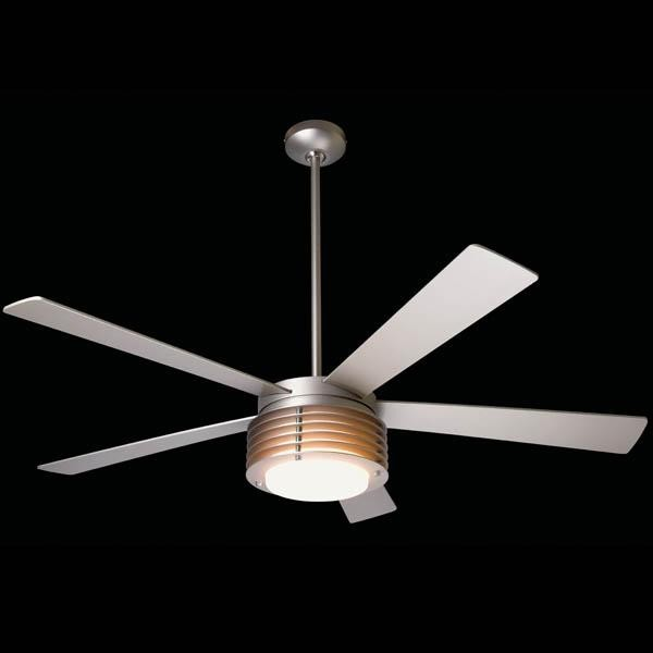 Modern Fan Co. Pharos Fan - Contemporary - Ceiling Fans - by Candelabra