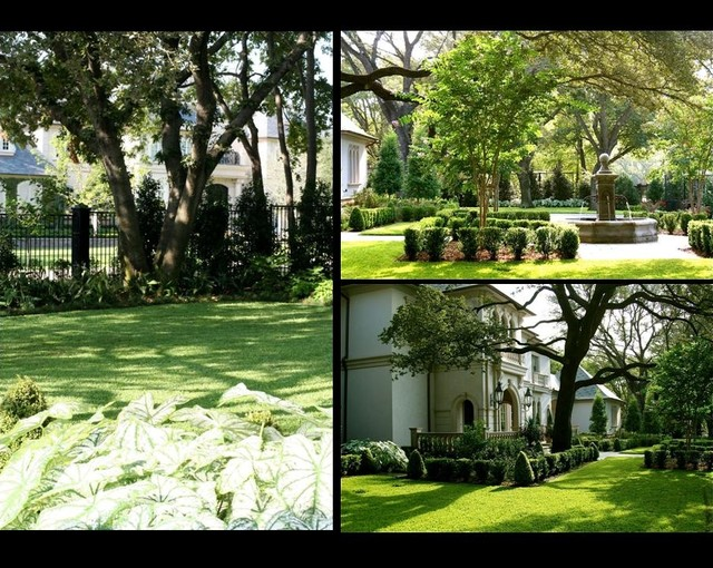 Dallas Texas Private Estate Garden Design Dallas By