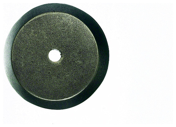 Silicon Bronze Light Backplates for Knobs, 1 1/4 in. - Traditional - Cabinet And Drawer Knobs ...