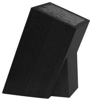Kapoosh Knife Block Black modern-kitchen-knives-and-accessories