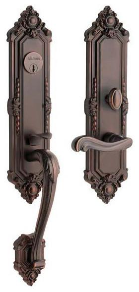 Kensington Entry Handleset traditional-door-hardware