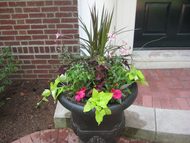 Clayton Entryway traditional outdoor planters