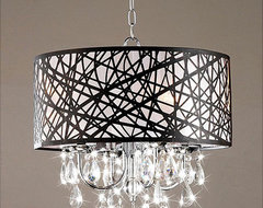 Indoor 4-light Chrome Antique Bronze Chandelier contemporary chandeliers