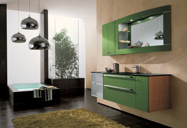 Corona 2 - AB 413 contemporary-bathroom