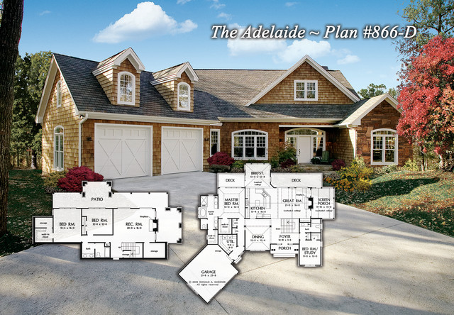 The Adelaide Plan 866 D Contemporary