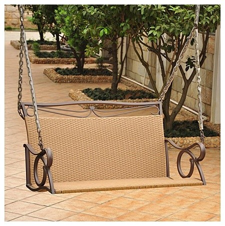 valencia porch swing modern outdoor chairs by wayfair