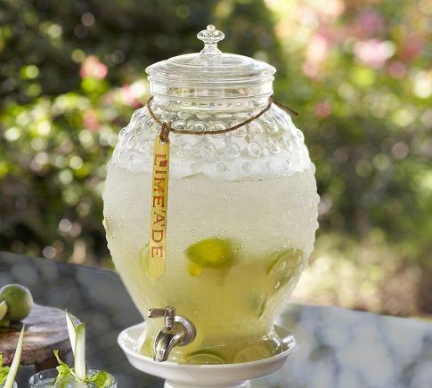 Hobnail Outdoor Drink Dispenser traditional-serveware